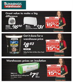 Bunnings Warehouse catalogue in New Plymouth ( Expired )