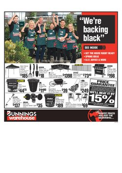 Hardware & Garden offers in the Bunnings Warehouse catalogue in Hamilton