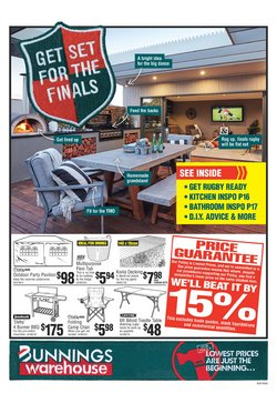 Offers from Bunnings Warehouse in the Hamilton special