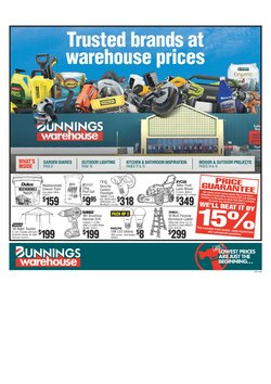 Bunnings Warehouse catalogue in Wellington ( 3 days ago )