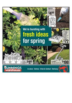 Hardware & Garden offers in the Bunnings Warehouse catalogue in Palmerston North ( 15 days left )