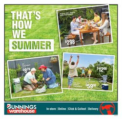 Bunnings Warehouse catalogue in Wellington ( Expired )