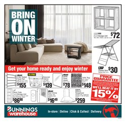 Bunnings Warehouse offers in the Bunnings Warehouse catalogue ( Expired)