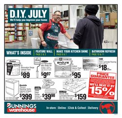 Bunnings Warehouse offers in the Bunnings Warehouse catalogue ( 4 days left)