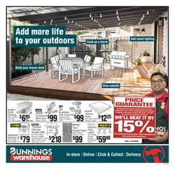 Hardware & Garden offers in the Bunnings catalogue ( Published today)