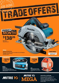 Offers from Mitre 10 Mega in the Auckland special