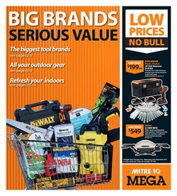 Hardware & garden offers in the Mitre 10 Mega catalogue in Auckland