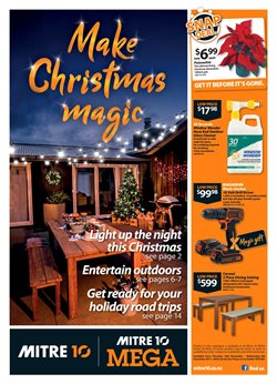 Offers from Mitre 10 Mega in the Blenheim special