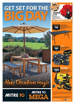 Offers from Mitre 10 Mega in the Wellington special