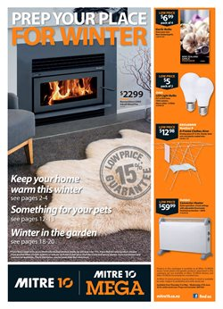 Offers from Mitre 10 in the Auckland special