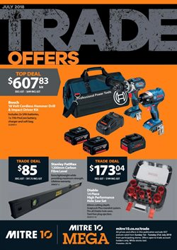 Offers from Mitre 10 in the Carterton special
