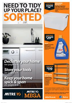 Hardware & garden offers in the Mitre 10 catalogue in New Plymouth