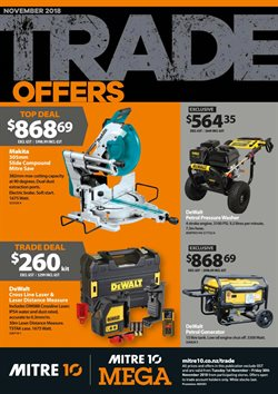 Offers from Mitre 10 in the Motueka special