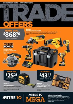 Offers from Mitre 10 in the Hokitika special