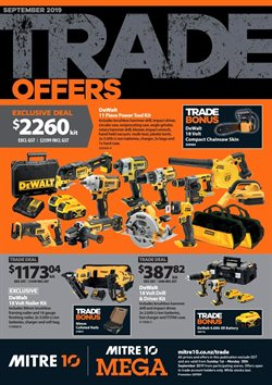Offers from Mitre 10 in the Hamilton special