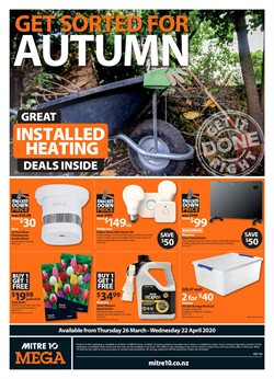 Mitre 10 catalogue ( 17 days left )