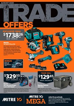 Hardware & Garden offers in the Mitre 10 catalogue in Pukekohe ( 18 days left )