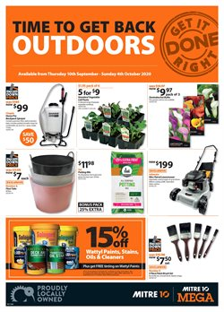 Mitre 10 catalogue ( 6 days left )