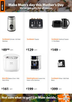 Mother's Day offers in the Mitre 10 catalogue ( Expires tomorrow)