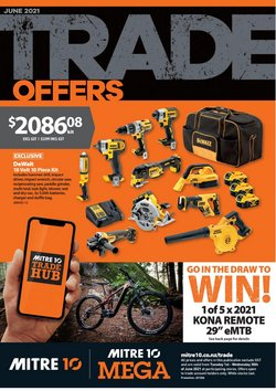 Mitre 10 offers in the Mitre 10 catalogue ( 13 days left)