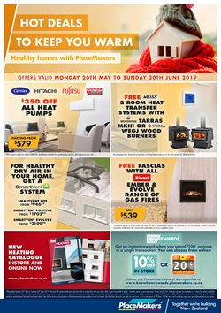 Offers from Placemakers in the Huntly special