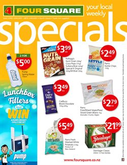 Grocery & Liquor offers in the 4 Square catalogue in Hastings