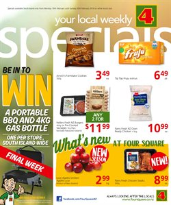 Grocery & Liquor offers in the 4 Square catalogue in Motueka
