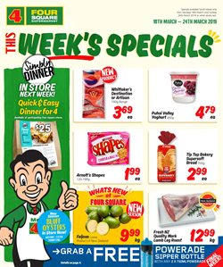 Offers from 4 Square in the Paraparaumu special