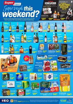 Offers from Super Liquor in the Motueka special