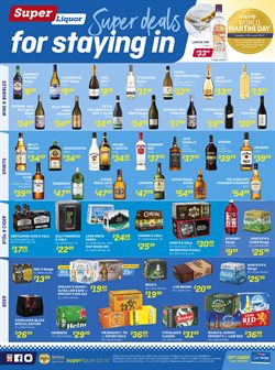Offers from Super Liquor in the Rolleston special