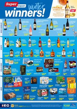 Offers from Super Liquor in the Katikati special