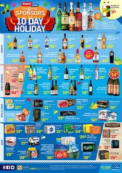 Offers from Super Liquor in the Christchurch special