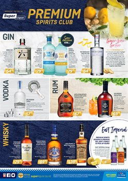 Grocery & Liquor offers in the Super Liquor catalogue in Auckland