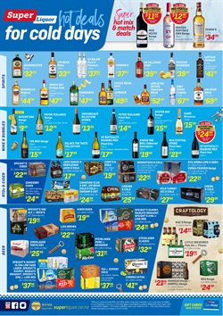 Grocery & Liquor offers in the Super Liquor catalogue in Alexandra