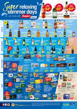 Supermarkets offers in the Super Liquor catalogue in Cromwell