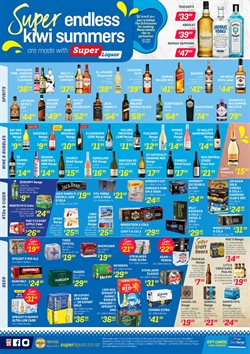 Super Liquor catalogue in Wellington ( Expires tomorrow )