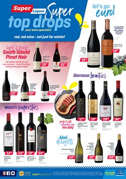 Super Liquor catalogue in Wellington ( 15 days left )
