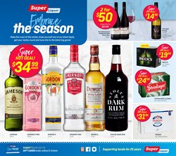 Supermarkets offers in the Super Liquor catalogue in New Plymouth ( 2 days ago )
