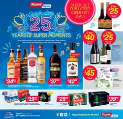 Supermarkets offers in the Super Liquor catalogue in Cromwell ( 4 days left )