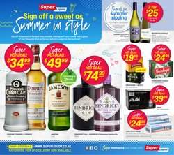Super Liquor catalogue ( 2 days ago )