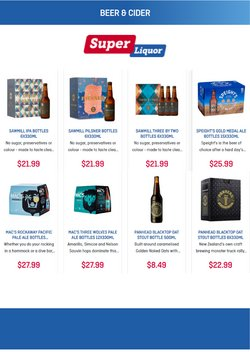 Super Liquor catalogue in Putaruru ( Expired )