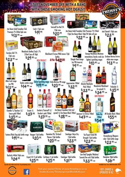 Grocery & Liquor offers in the Thirsty Liquor catalogue in Rolleston