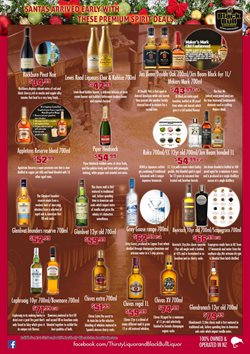 Offers from Thirsty Liquor in the Rolleston special
