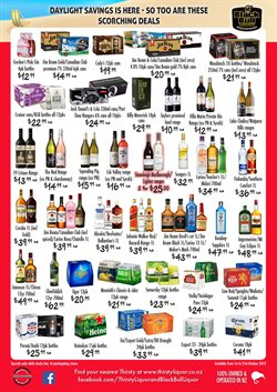 Supermarkets offers in the Thirsty Liquor catalogue in Auckland