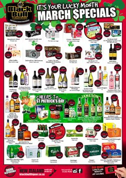 Supermarkets offers in the Thirsty Liquor catalogue in Auckland ( Expires today )