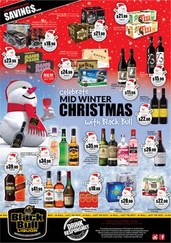 Supermarkets offers in the Thirsty Liquor catalogue ( 5 days left)