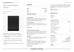 Fisher & Paykel offers in the Fisher & Paykel catalogue ( 5 days left)