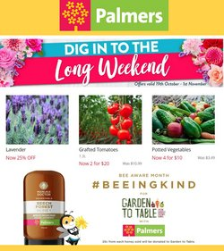 Palmers offers in the Palmers catalogue ( 6 days left)