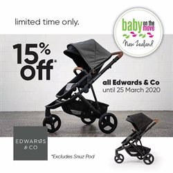 Babies, Kids & Toys offers in the Baby on the move catalogue ( 23 days left )