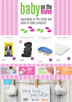 Babies, Kids & Toys offers in the Baby on the move catalogue ( Expires tomorrow )